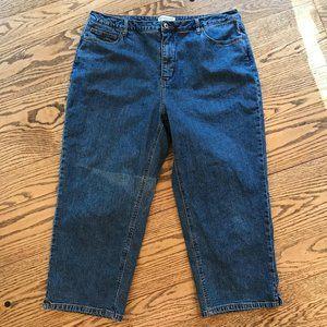 🔴 Coldwater Creek Crop Jeans, 18W